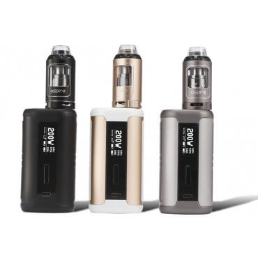Aspire - Speeder - schwarz (Kit), 4ml Tank