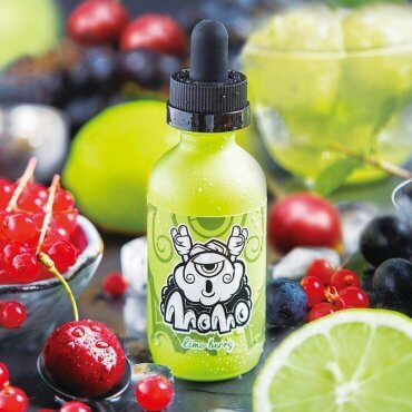 Momo - Lime Berry - 50ml (Liquid), 0mg/ml, 80/20 VG/PG