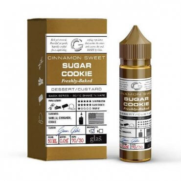 Glas - Basix Sugar Cookie - 50ml (Liquid), 0mg/ml, 70/30 VG/PG