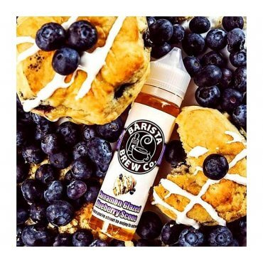Barista Brew - Cinnamon Glazed Blueberry Scone - 50ml (Liquid), 0mg/ml, 70/30 VG/PG