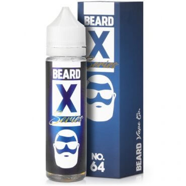 Beard Vape - X-Series No. 64 - 50ml (Liquid), 0mg/ml, 70/30 VG/PG