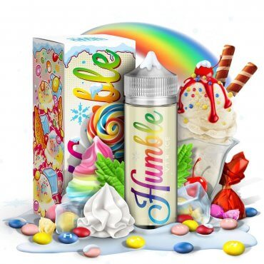 Humble PLUS - Vape the Rainbow Ice - 100ml (Liquid), 0mg/ml, 80/20 VG/PG