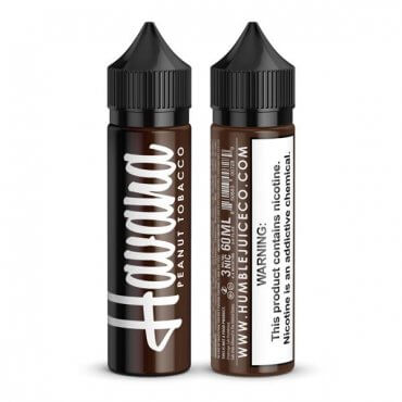 Humble PLUS - Havana Peanut Tobacco - 100ml (Liquid), 0mg/ml, 100/0 VG/PG