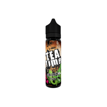 VoVan - Tea Time Green Tea - 50ml (Liquid), 0mg/ml, 70/30 VG/PG