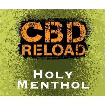 CBD Reload - Holy Menthol 500mg - 10ml (Liquid), 0mg/ml, 70/30 VG/PG