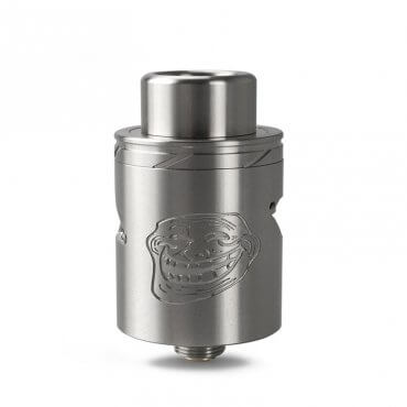 Wotofo - The Troll 25 RDA V2 - silber (Tank), 0ml