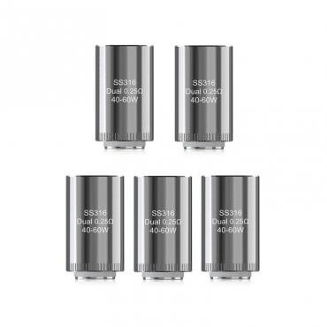 Eleaf - Dual Head (Coil), 0.25 Ohm, 5 Stk.
