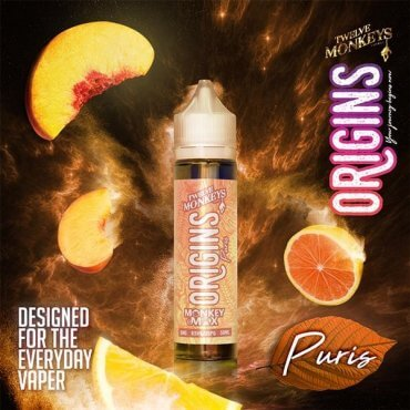 Twelve Monkeys - Origins Puris - 50ml (Liquid), 0mg/ml, 70/30 VG/PG