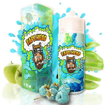 Vape Heads - Smurf Sauce - 50ml (Liquid), 0mg/ml, 100/0 VG/PG