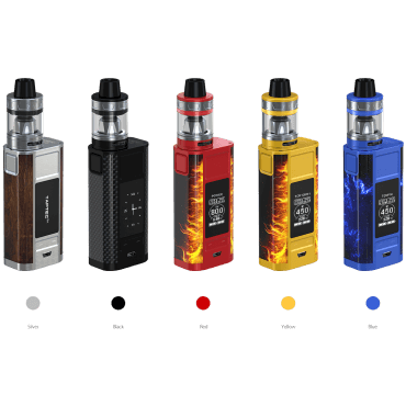 Joyetech - CUBOID TAP mit ProCore Aries - silver-wood (Kit), 4ml Tank