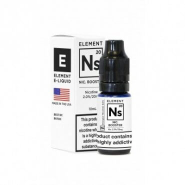Element - Nic Salt  - 10ml (Shot), 20mg/ml, 50/50 VG/PG