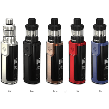 Wismec - Sinuous P80 - schwarz (Kit), 2ml Tank