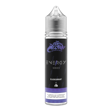 The Fog Clown - Energy Series Blackcurrant - 50ml (Liquid), 0mg/ml, 70/30 VG/PG