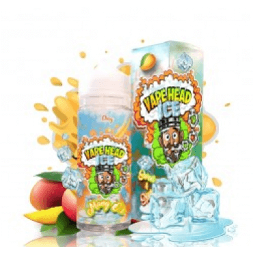 Vape Heads - Mango O's Ice - 50ml (Liquid), 0mg/ml, 100/0 VG/PG