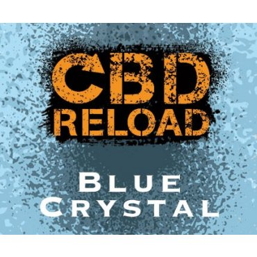 CBD Reload - Blue Crystal 300mg - 10ml (Liquid), 0mg/ml, 70/30 VG/PG