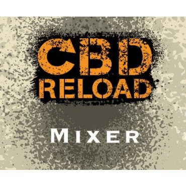 CBD Reload - Mixer 500mg - 10ml (Liquid), 0mg/ml, 70/30 VG/PG