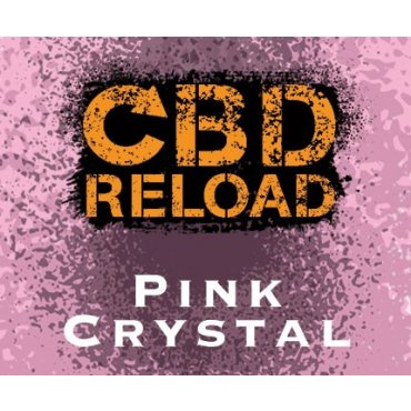 CBD Reload - Pink Crystal 500mg - 10ml (Liquid), 0mg/ml, 70/30 VG/PG