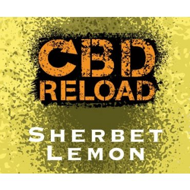 CBD Reload - Sherbet Lemon 500mg - 10ml (Liquid), 0mg/ml, 70/30 VG/PG