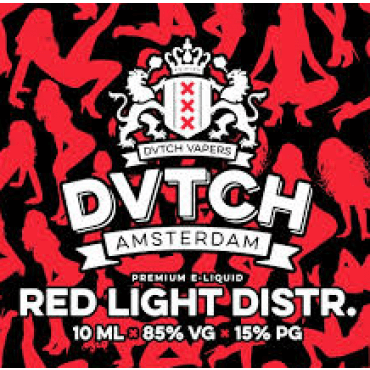 DVTCH - Red Light District - 10ml (Liquid), 70/30 VG/PG, 3 Stk.