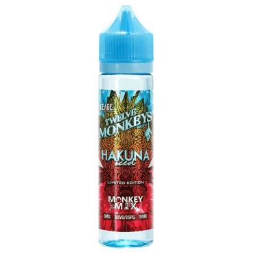 Twelve Monkeys - Icec Age Hakuna Iced - 50ml (Liquid), 0mg/ml, 70/30 VG/PG