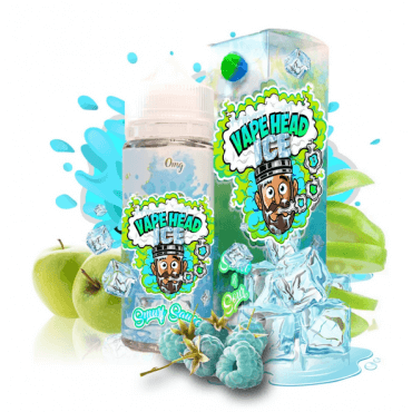 Vape Heads - Smurf Sauce Ice - 50ml (Liquid), 0mg/ml, 100/0 VG/PG