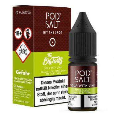 Cola with Lime - Pod Salt Fusion 20mg 10ml Liquid