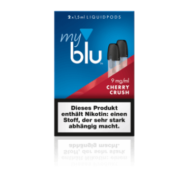 Blu - MyBlu Cherry Crush - 1.5ml (Liquid), 9mg/ml, 50/50 VG/PG, 2 Stk.
