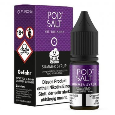 Summer Syrup - Pod Salt Fusion 20mg 10ml Liquid