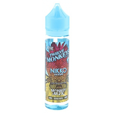 Twelve Monkeys - Icec Age Nikko Iced - 50ml (Liquid), 0mg/ml, 70/30 VG/PG