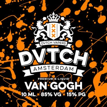 DVTCH - Van Gogh - 10ml (Liquid), 3mg/ml, 70/30 VG/PG