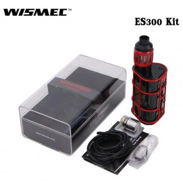 Wismec - EXO Skeleton ES300 - rot (Kit), 2.8ml Tank