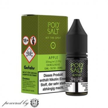 Apple - Pod Salt 20mg 10ml Liquid