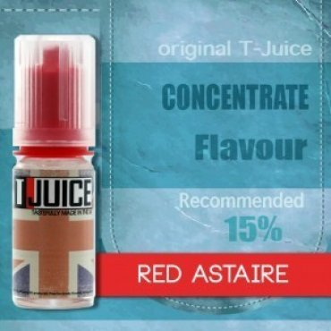 T-Juice - Red Astaire - 10ml (Liquid), 50/50 VG/PG