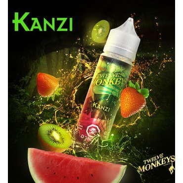 Twelve Monkeys - Kanzi - 50ml (Liquid), 0mg/ml, 80/20 VG/PG