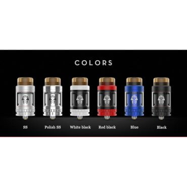 Digiflavor - Pharaoh Mini RTA - black (Tank), 2ml