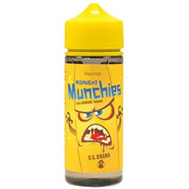 Vaporist - Midnight Munchies O.G. Banana - 100ml (Liquid), 0mg/ml, 70/30 VG/PG