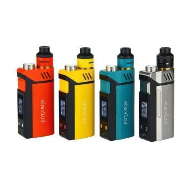 Ijoy - RDTA Box 200W - silber (Kit), 12.8ml Tank