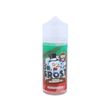 Dr.Frost - Apple Cranberry Ice - 100ml (Liquid), 0mg/ml, 70/30 VG/PG